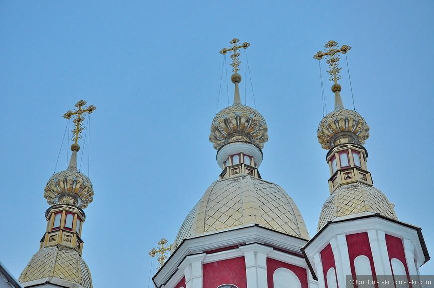 19. Все старинные храмы восстановлены и не отличимы от свежепостроенных колоколен.