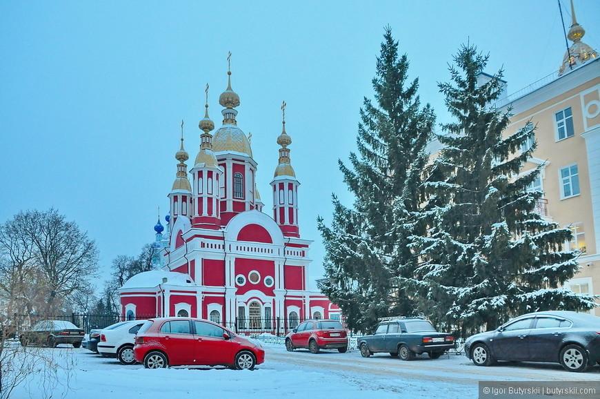 21. Посмотрите, какая красота. Зимой города выглядят иначе.