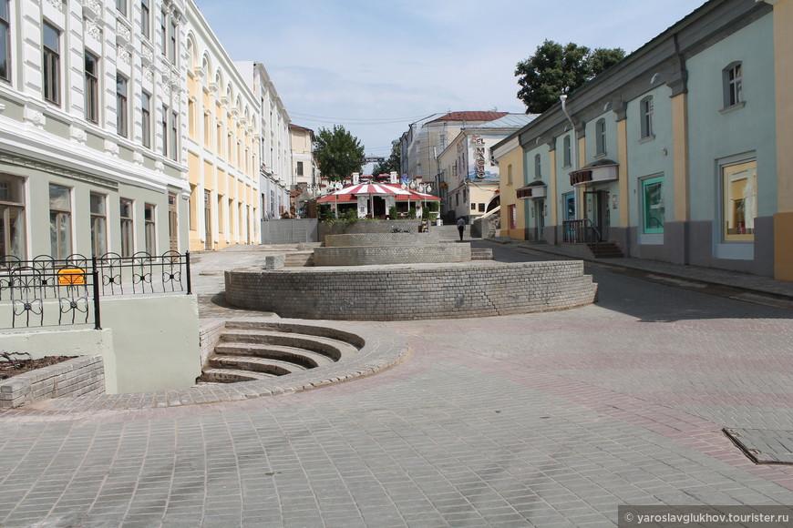 """Каскадная"" часть улицы Мусы Джалиля."