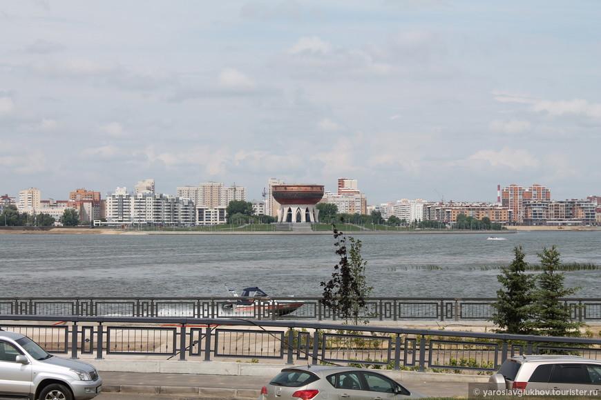 Вид на Казан.