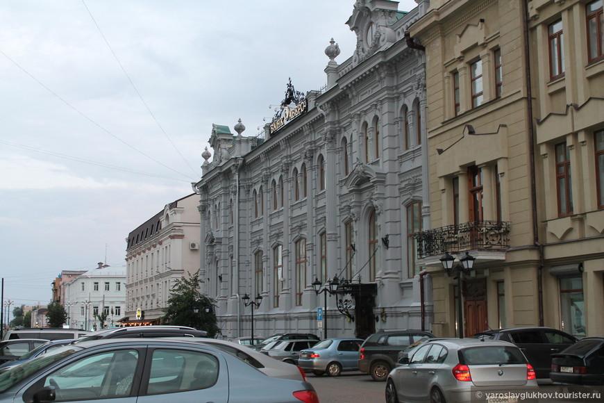 Улица Островского.