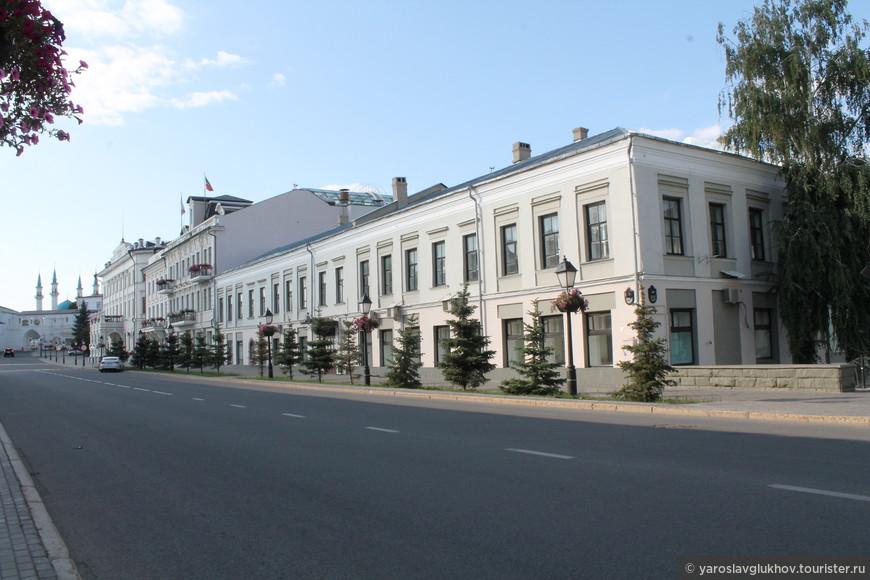 Улица Кремлёвская.