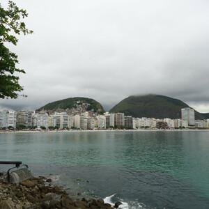 Районы Копакабама и Ипонема в Рио