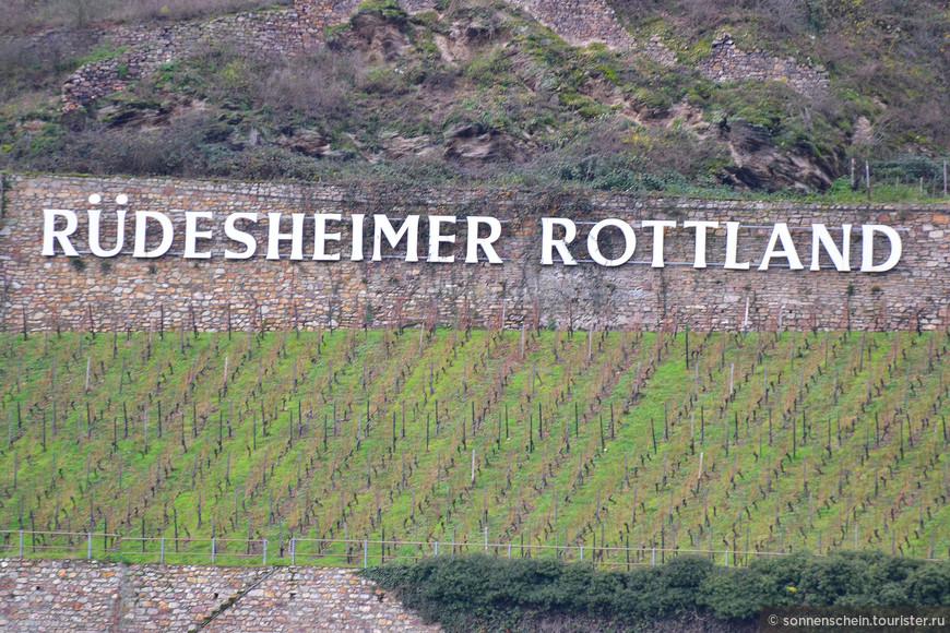 Главная туристическая «аттракция» города – «Eiswein», или ледяное вино, которое предлагают в погребах местных ресторанчиков. Рюдесхайм расположен в центре винодельческого региона, и неудивительно, что вино льется здесь рекой.