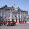 Дворцовый комплекс Амалиенборг -действующая резиденция датских монархов 👑