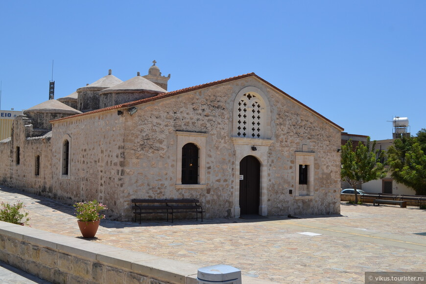 Деревня Иероскипу. Церковь Святой Параскевы.