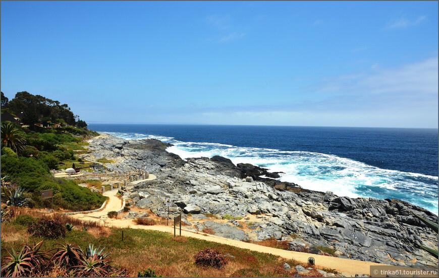 В местечке под названием Mar Bravo всегда сильные волны. Отсюда и название - Бурлящее море.
