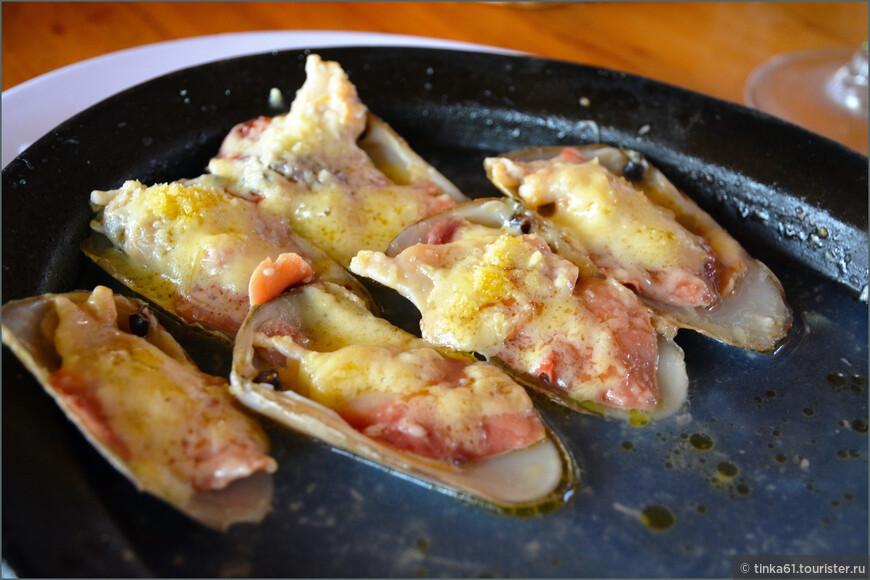 Дары Тихого океана - Machas a la parmesana.
