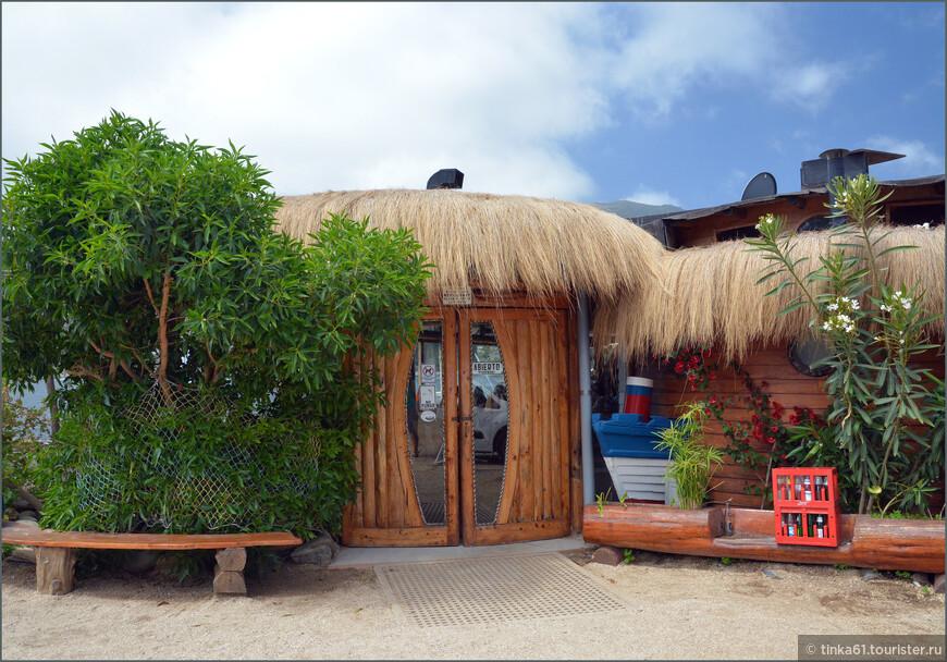 Популярный ресторанчик морской кухни El Chiringuito.