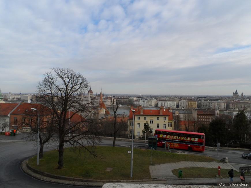 Будапешт, дорога к Рыбацкому бастиону.