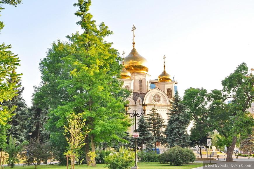 19. Не так давно восстановили храм Александра Невского разрушенный в советское время.