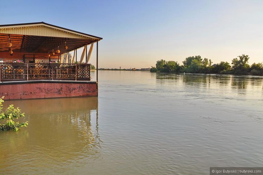 20. Переместимся на набережную реки Кубань.