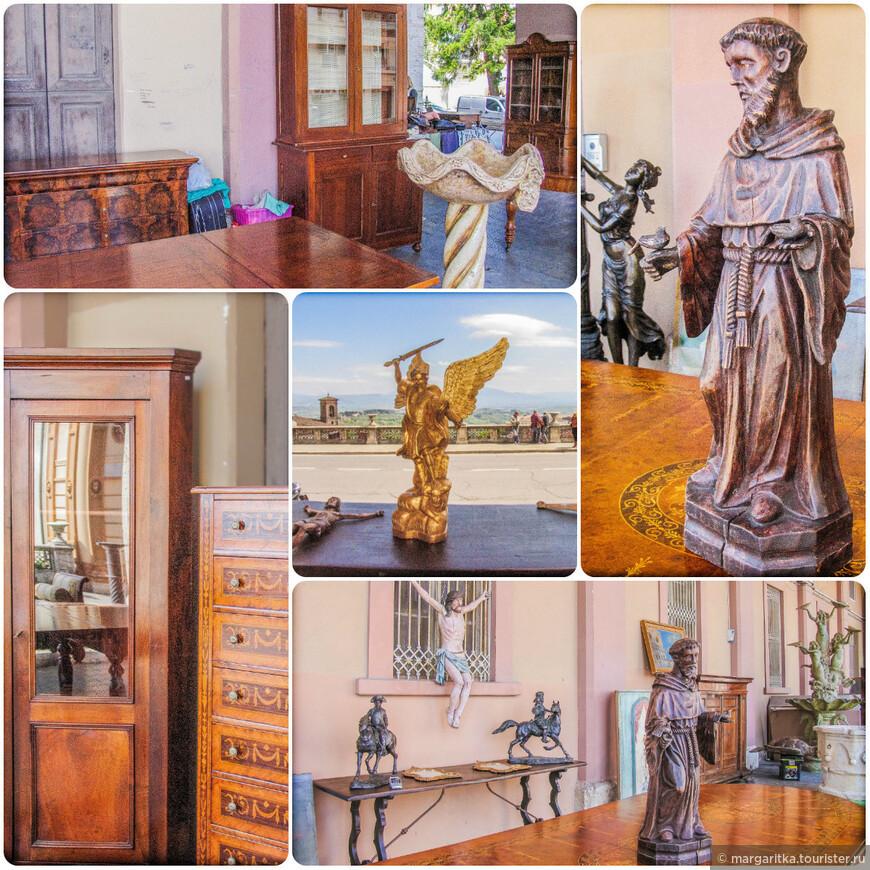 наряду со всякой ерундой там были выставлены самые разные произведения искусства от мебели до статуэток