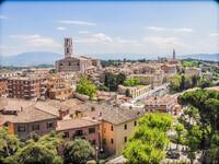 Перуджа - город поцелуев. Италия. Умбрия
