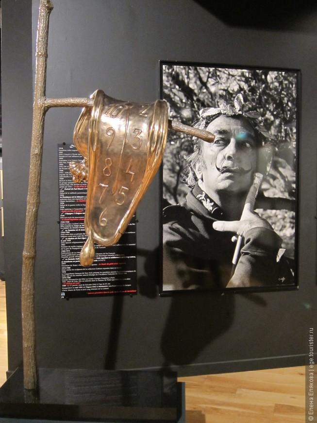 Музей Садьвадора Дали на Монмартре, куда мы заходили. В этом музее только рисунки и скульптуры Дали)
