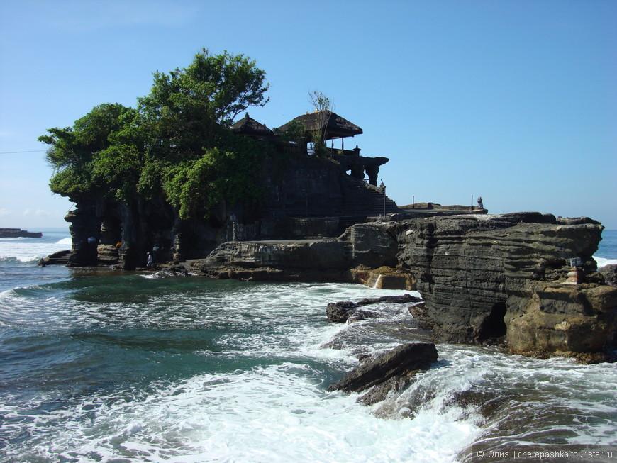 Храм Танах Лот, удивительно красивое место на острове, нисколечко не пожалели, что приехали сюда