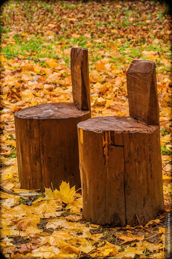 на природе кресла из природных материалов