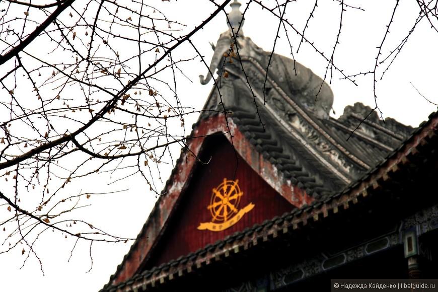 зима в Чэнду, немного серая, слегка прохладная и весьма загадочная