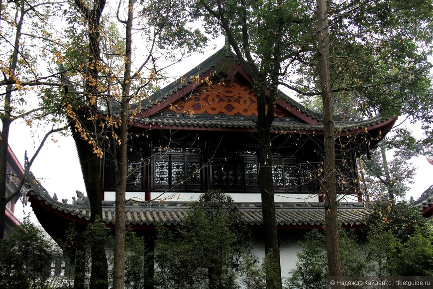 Монастырь Манджушри, Чэнду