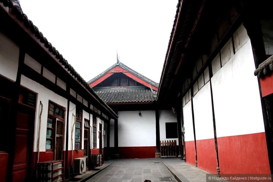 монашеское общежитие, Монастырь Манджушри, Чэнду
