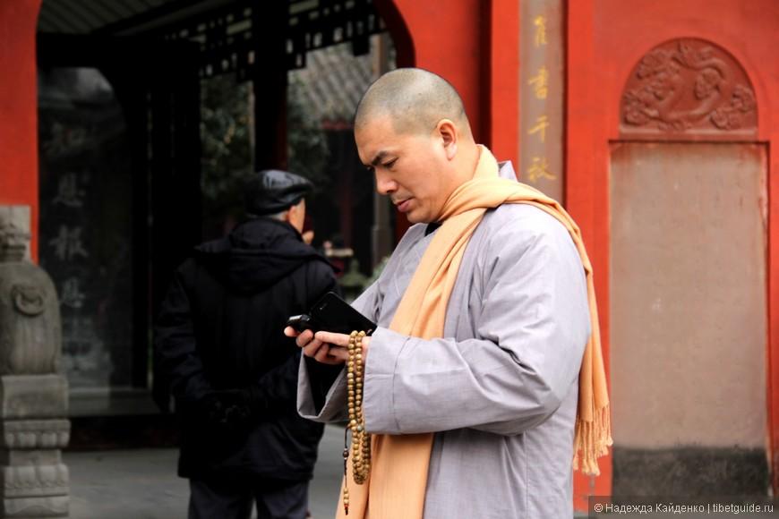 монах монастыря Мунчжушри