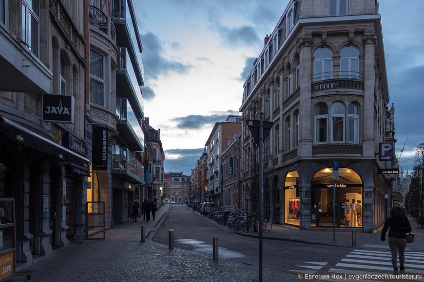 Улицы близ вокзала застраивались в начале 20 века