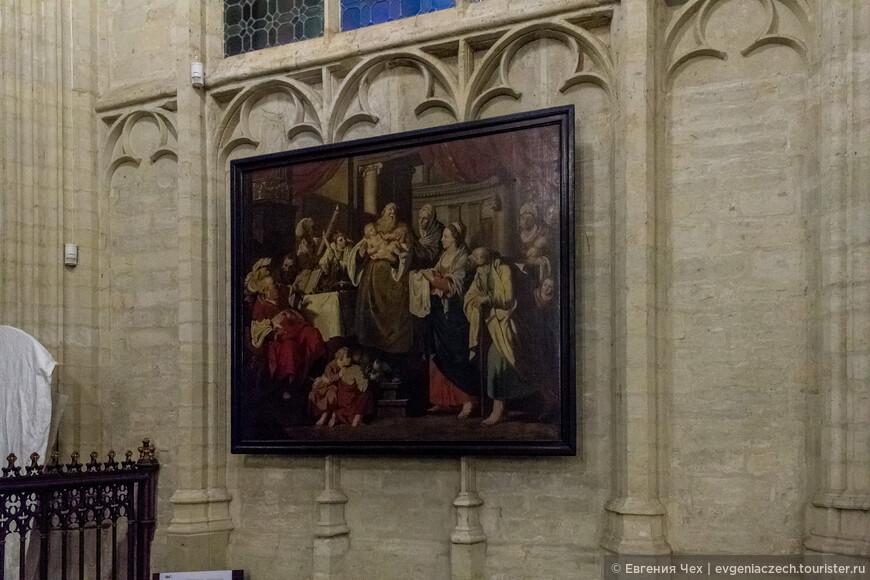 Типичные для Бельгии церковные картины, в основном Дирка Боутса