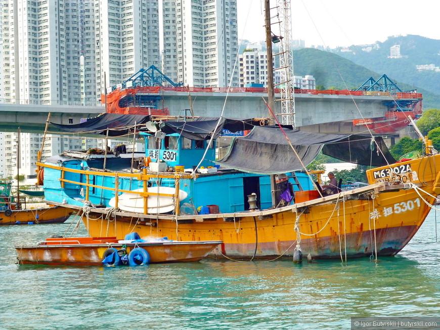 17. Лодки поменьше, чтобы доплывать до берега и отвозить улов в рестораны.
