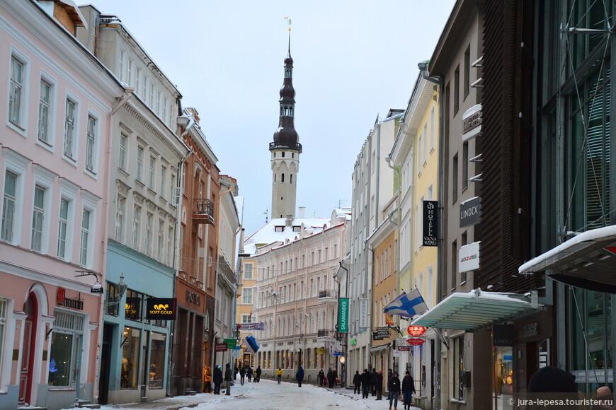 улицами города