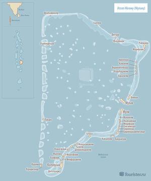 Мальдивы: атоллы Вааву, Меему, Фаафу и Дхаалу