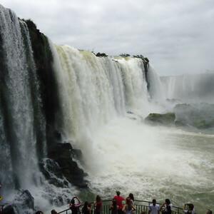 Водопады Игуасу с бразильской стороны