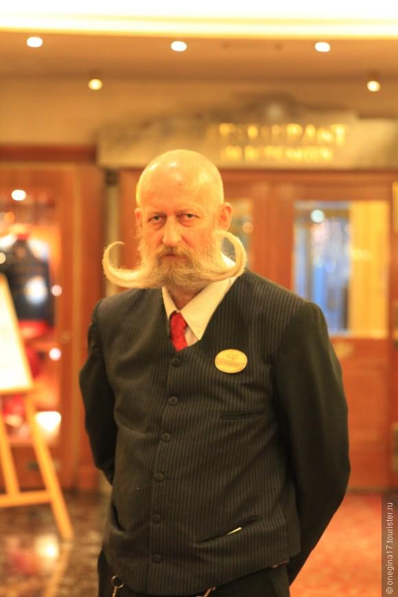 Главная достопримечательность нашего отеля! Его шикарные усы знает весь интернет и отель можно найти во всемирной паутине именно по этим усам!