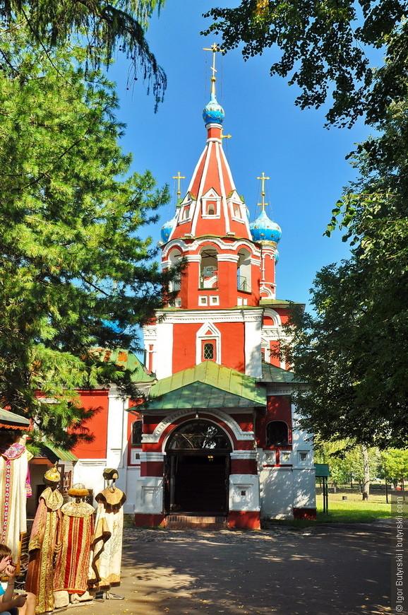 11. Колокольня Церкви Димитрия на крови.