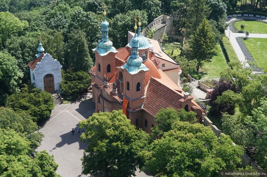 Вид с Петршинской башни
