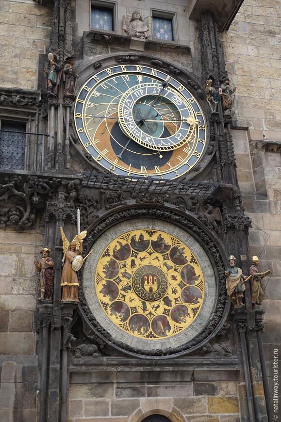 Пражские астрономические часы или Пражский Орлой – средневековые астрономические часы
