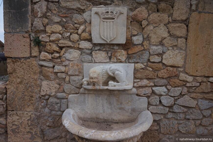 Древний фонтанчик