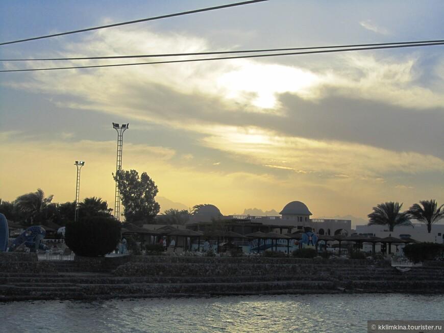 Египет. Хургада. Закат.