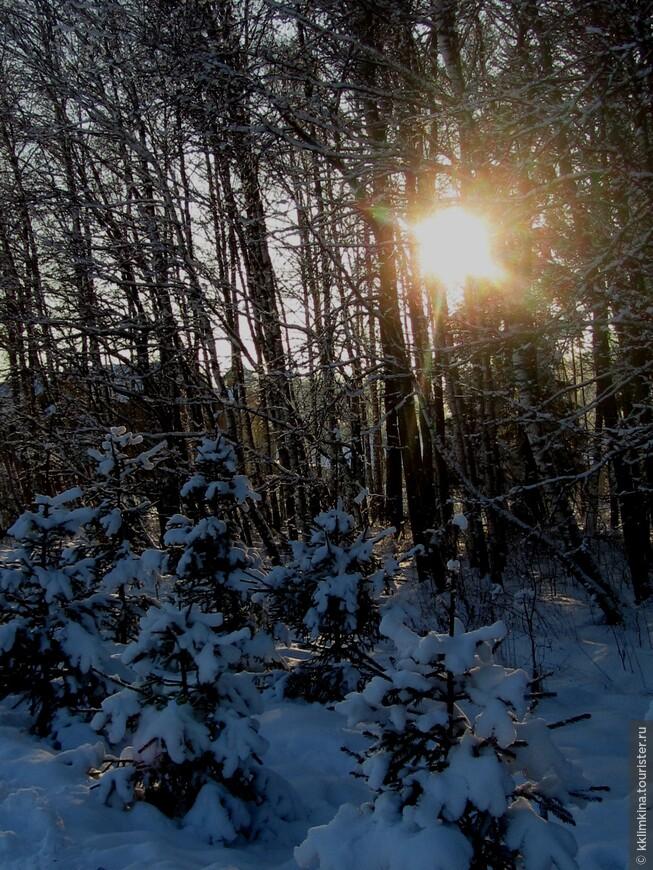 Россия. Этномир. Закат. Закат на море конечно прекрасен, но сочетание уходящего солнца и снега все таки ни с чем не сравнить!