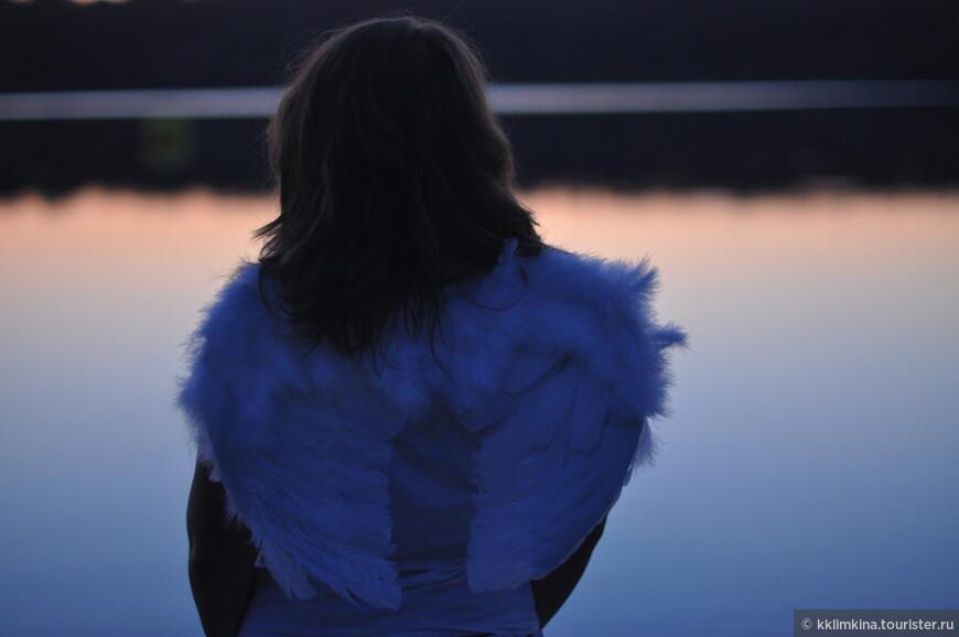 Ангел на закате. Россия. Калуга.