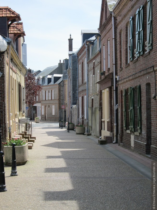 Улицы Этрета