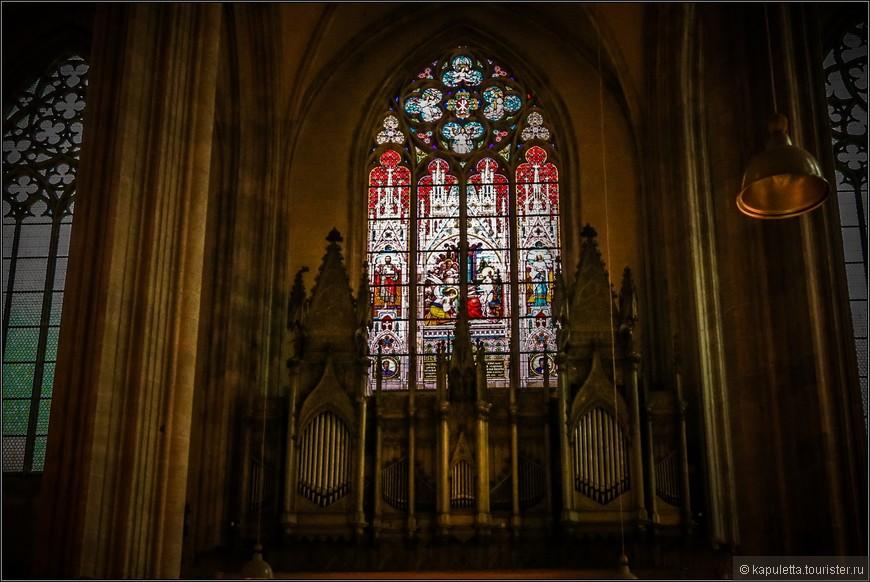 Только в этой церкви орган не звучал, и концерта не было....