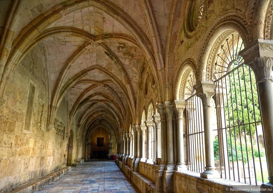 Клуатр, (крытая обходная галерея внутреннего двора )- красивейшая ажурная пристройка Кафедрального собора