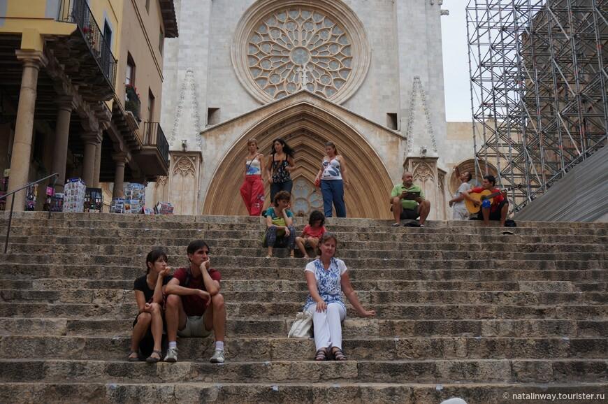 Лестница к Кафедральному собору