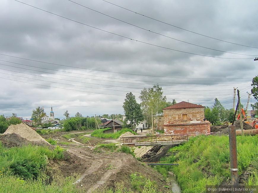14. К сожалению, если немного отвернуться от туристических троп, то предстаем совершенно другой Тобольск.