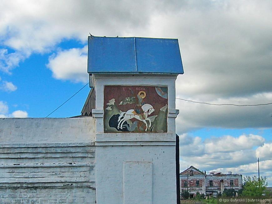 35. В 1989 году обитель с разрушенными храмами и монастырскими постройками была возвращена Омско-Тюменской епархии Русской Православной Церкви.