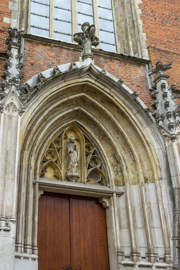 Изображение святого Квентина