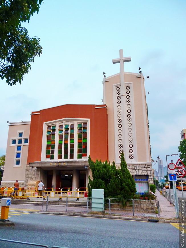 15. Католическая церковь. В Гонконге осталось и хорошо сохраняется огромное Английское наследие.