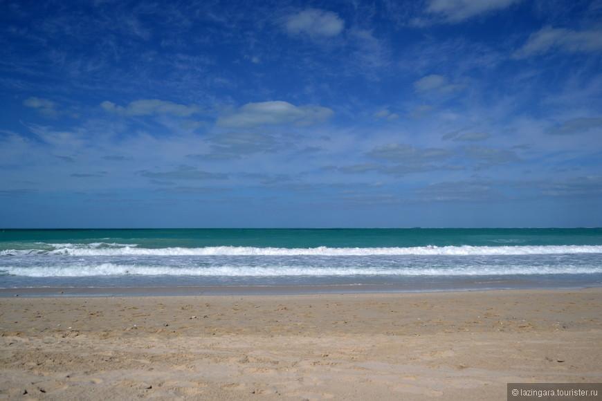 Изумрудные воды Персидского залива. Пляж Джумейра