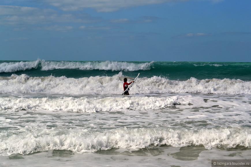 Отчаянная серфингистка. Джумейра опен бич