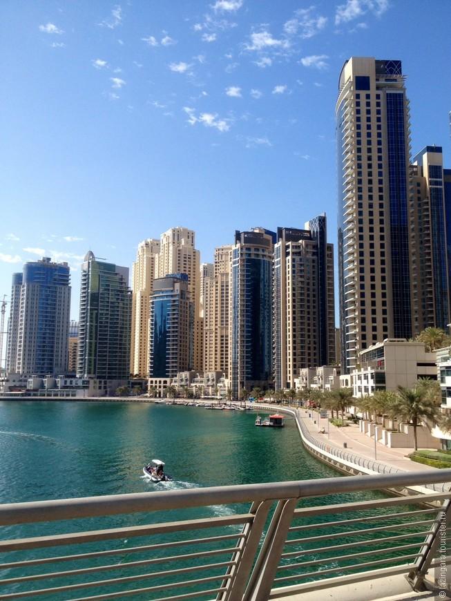 Каналы Дубай Марины
